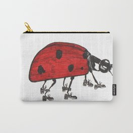 Ladybug Wearing Tap Shoes Gotta Dance Carry-All Pouch