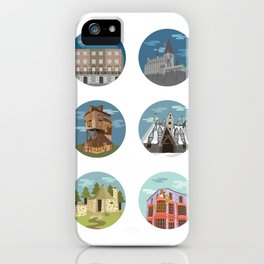 HP- Locations iPhone Case