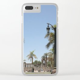 Temple of Luxor, no. 22 Clear iPhone Case