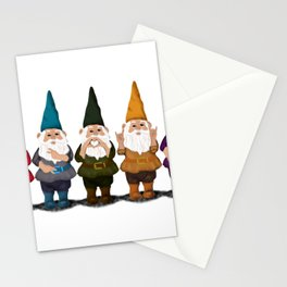 Hangin with my Gnomies - The line up Stationery Cards