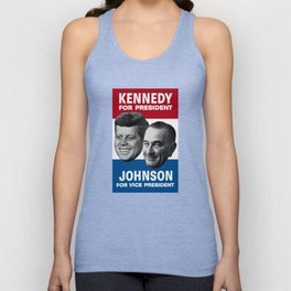 Kennedy And Johnson 1960 Election Unisex Tank Top