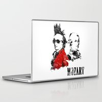 mozart Laptop & iPad Skins featuring Mozart Punk by viva la revolucion