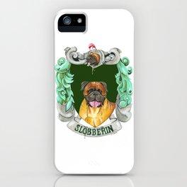 Dogwarts Slobberin iPhone Case