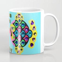 Gem Stone Fish, Kiss Me Baby Coffee Mug
