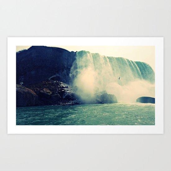 Niagra Falls Art Print