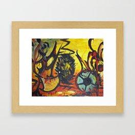 Death of a Kiwi Framed Art Print