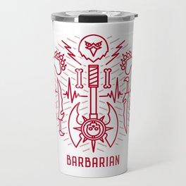 Barbarian Emblem Travel Mug