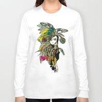 karu kara Long Sleeve T-shirts featuring KARA by DON'T NEED NO SAMURAI