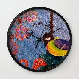 Cheep Cheep Wall Clock