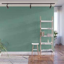 Botanical Embrace ~ Soft Green Wall Mural