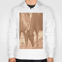 chicago bulls Hoodies featuring Bulls Fight by Four Hands Art