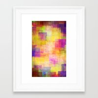 carnival Framed Art Prints featuring Carnival by SensualPatterns