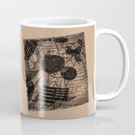 street cafe abstract Coffee Mug