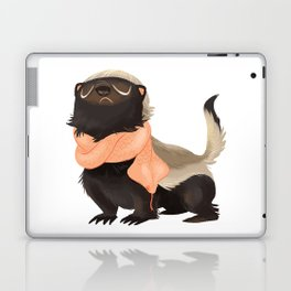 Honey Badger Don't Care Laptop & iPad Skin