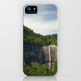 Hickory Nut Falls - NC iPhone Case