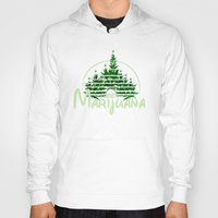 marijuana Hoodies featuring Marijuana  by FandomizedRose