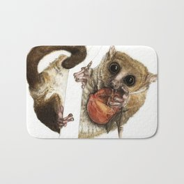 Munching Mouse Lemur Bath Mat
