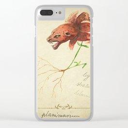 Planimarium -tigris striatus lilium Clear iPhone Case