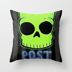 Post Bartem Throw Pillow