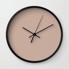 Rust Bucket ~ Tan Wall Clock