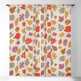 Autumn Leaves Blackout Curtain