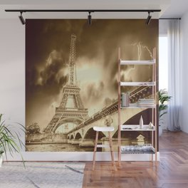 Old Paris Wall Mural