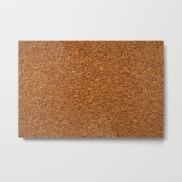 Sea of instant coffee Metal Print