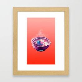 Hotpot Framed Art Print