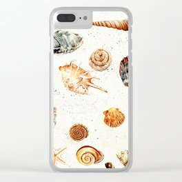 Shells Beautiful Thing! Clear iPhone Case