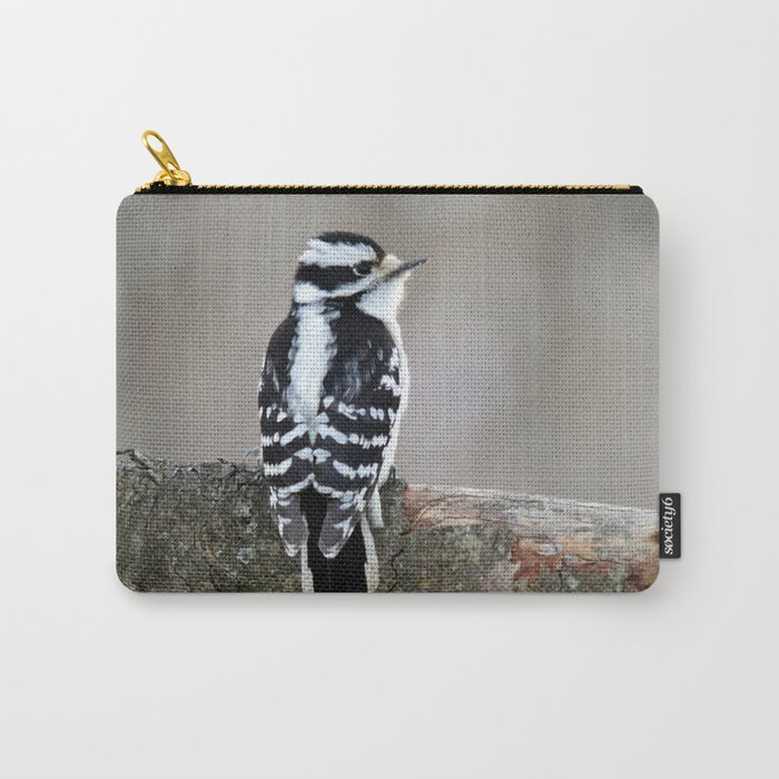 Stunning in Black and White Carry-All Pouch