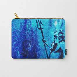 Poseidon, the Greek God of the oceans Carry-All Pouch