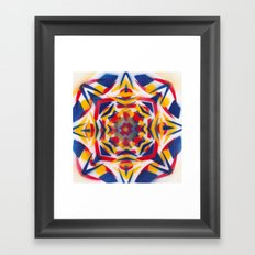 Bluestarredbox Framed Art Print