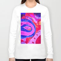 feet Long Sleeve T-shirts featuring baby feet by Art Corner
