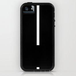 Minimal White 1 iPhone Case