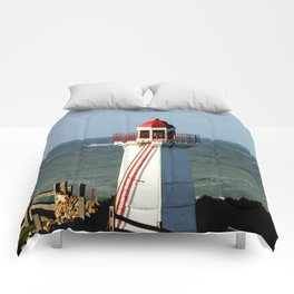 Lady Bay Lower Lighthouse  Comforters