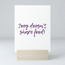 Share Food Mini Art Print