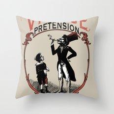 Ye Oldé Vintage Pretension Throw Pillow
