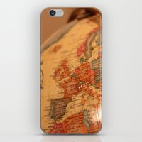 globe iPhone & iPod Skins featuring Globe by RMK Photography