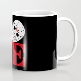 LOVE Friday the 13th Coffee Mug