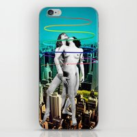 sex and the city iPhone & iPod Skins featuring Sex in the City by Collage Calamity
