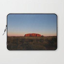 Uluru Sunset I Northern Territory, Australia I Travel Photography Laptop Sleeve