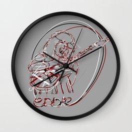 EVH lineart Wall Clock