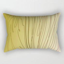 zebra stripes zebra skin  gold Rectangular Pillow