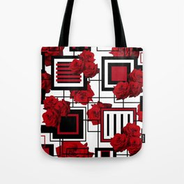 Behind the Rosey Bars Tote Bag