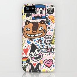 Pop Swag iPhone Case