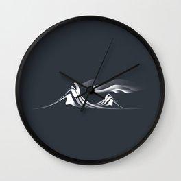 Mystic Mountain Wall Clock