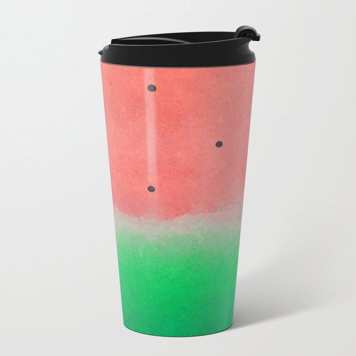 Watermelon Washout #society6 Metal Travel Mug