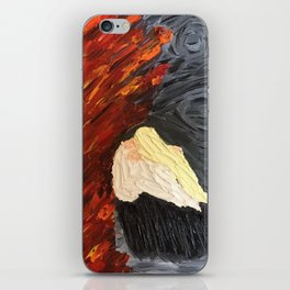 Painted Wrath Art (7 Deadly Sins and 7 Contrary Virtues) iPhone Skin