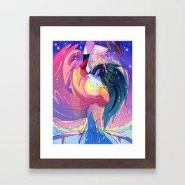 Blubbline Mini Framed Art Print