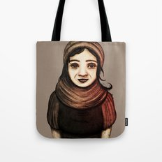 Desert Girl II Tote Bag